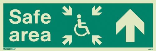 Mobility Impaired Safe Area / Evacuation Signs